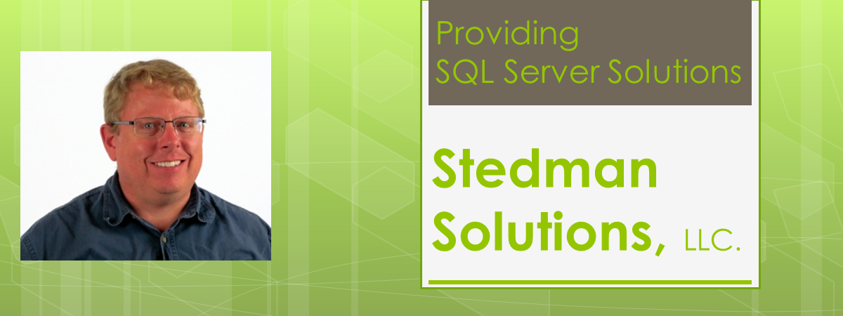 Stedman Solutions for help TempDB only has a single data file